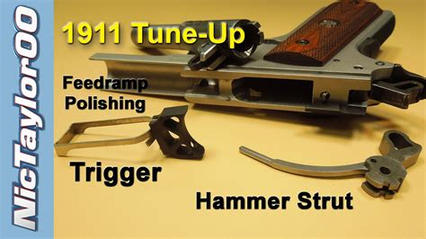 1911 Tune Up Trigger Hammer Strut Feed Ramp Polishing