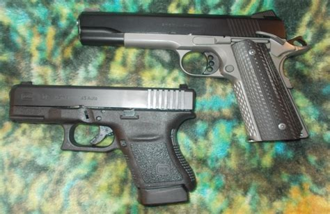 1911 Vs Glock For Home Defense Site Www Defensivecarry Com