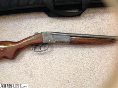1915 Springfield Double Barrel Shotgun