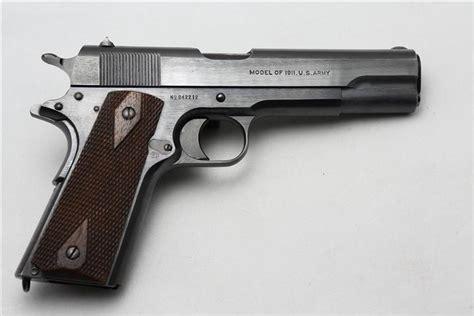 1918 Colt 1911 Slide Markings