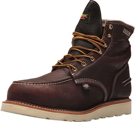 1957 Series Men's 6' Moc Toe, MAXwear Wedge Waterproof Non-Safety Toe Boot