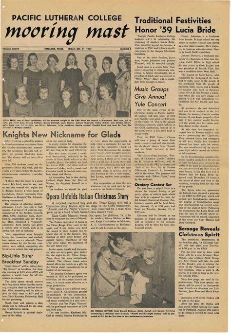 19581960 Mooring Mast By Pacific Lutheran University