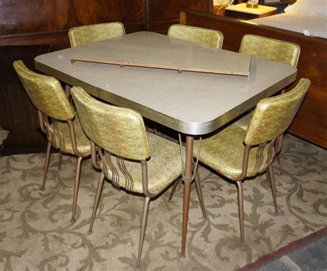 1960s Formica Kitchen Table And Chairs