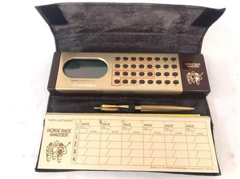 1979 Mattel Electronics Horse Race Analyzer