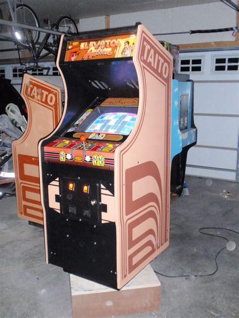 1982 Video Arcade Game Cabinet Plans