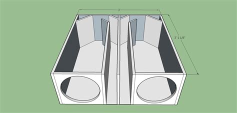 2 12 Ported Box Plans