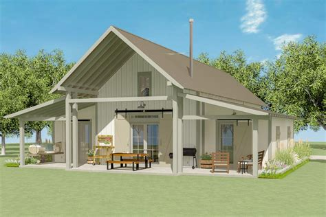 2 Bedroom Loft House Plans