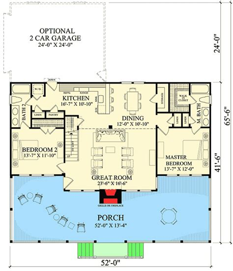 2 Bedroom Log Cabin Plans Tb