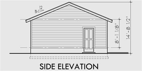 2 Car Deep Garage Plans