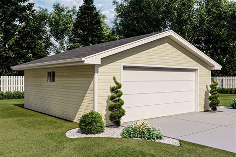 2 Car Garage Door Plans
