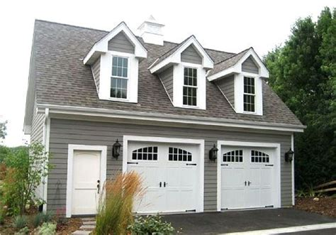 2 Car Garage Plans With Workshop And Loft