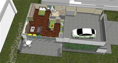 2 Car Garage With Mother In Law Suite Plans