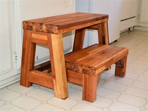 2 Step Wood Stool Plans