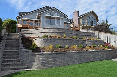 2 Tier Garden Retaining Wall Wood Plans
