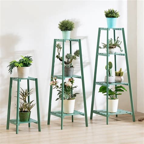 2 Tiered Wooden Plant Stand