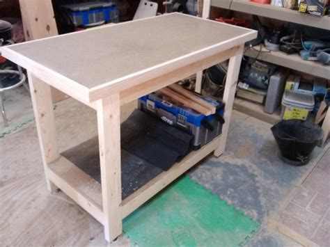2 X 4 Workbench Plans With A Kreg Jig