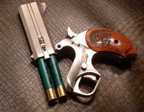 2 Shot Pistol That Fires 410 Shotgun Shells
