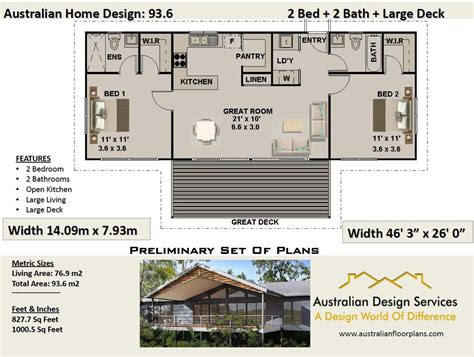 2-Bed-2-Bath-House-Plans-Australia