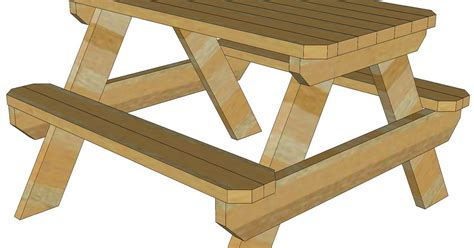 2-By-6-Picnic-Table-Plans