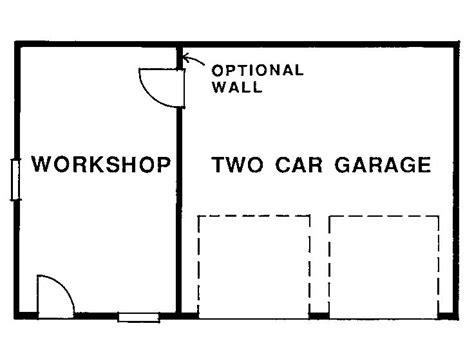 2-Car-Garage-And-Workshop-Plans
