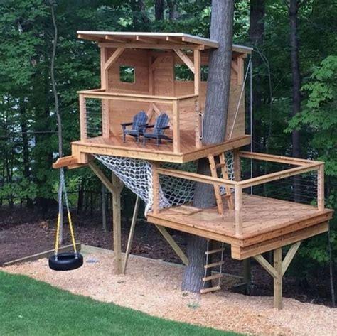2-Level-Tree-House-Plans