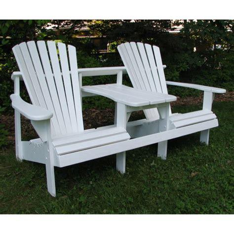 2-Seater-Adirondack-Chair
