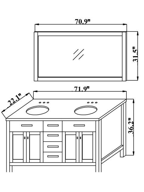 2-Sink-Bathroom-Vanity-Plans