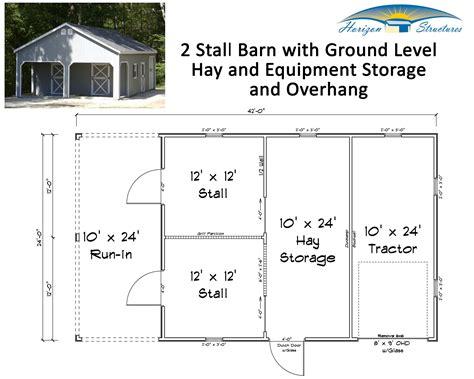 2-Stall-Barn-Floor-Plans