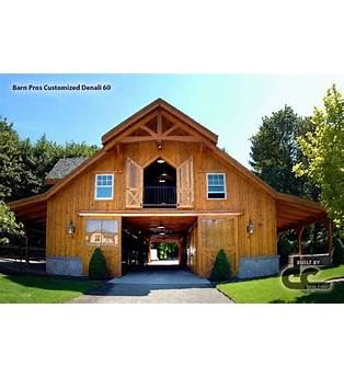 2 Story Barn Home Plans