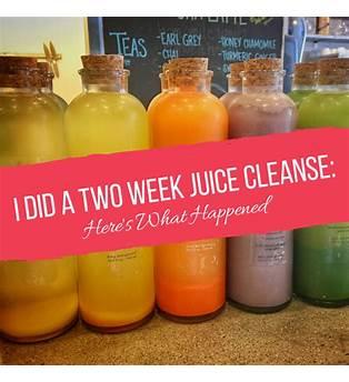 2 Week Juice Cleanse Results