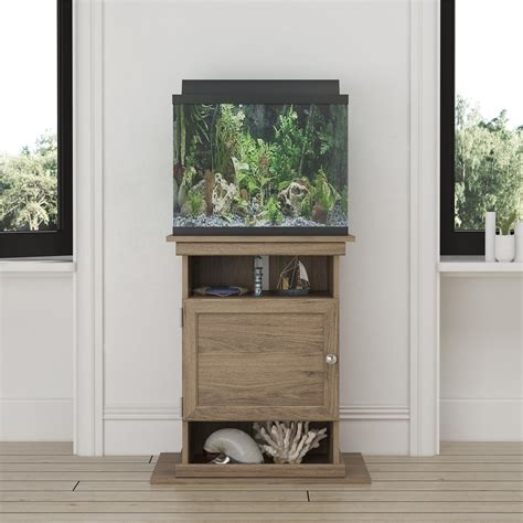 20 Gallon Oak Fish Tank Stand