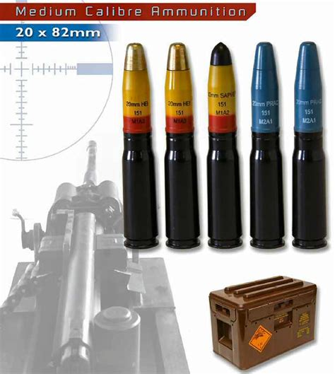 20 82mm Ammo