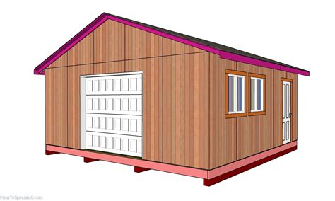 20 by 20 shed plans Image