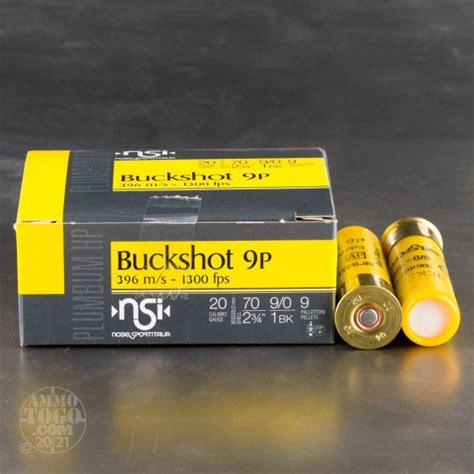 20 Gauge 1 Buckshot Ammo