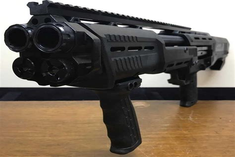 20 Gauge Double Barrel Pump Shotgun