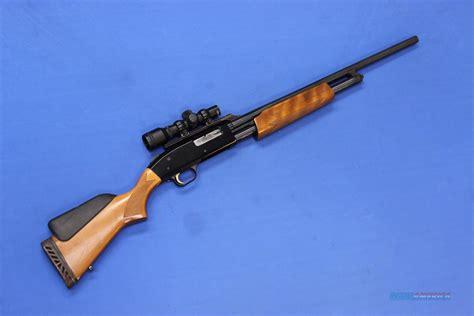 20 Gauge Shotguns With Rifled Barrels