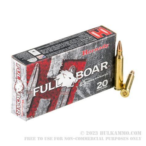 20 Rounds Of Bulk 223 Ammo By Hornady 50gr Gmx