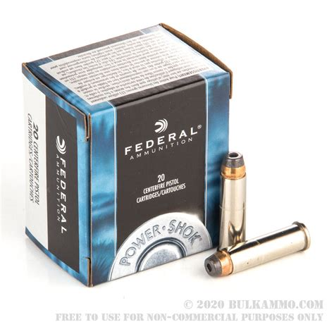 20 Rounds Of Bulk 357 Mag Ammo By Federal - 158gr JHP