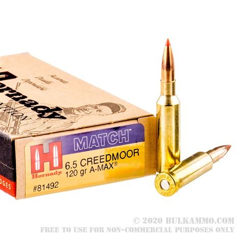 20 Rounds Of Bulk 6 5 Mm Creedmoor Ammo By Federal