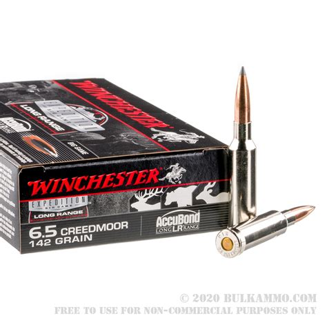 20 Rounds Of Bulk 6 5 Mm Creedmoor Ammo By Winchester