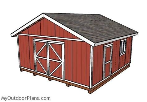 20-X-40-Wood-Shed-Plans