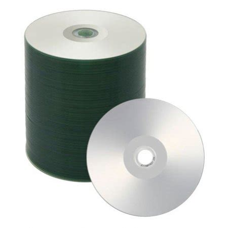 200 Spin-X 52x CD-R 80min 700MB White Inkjet Printable