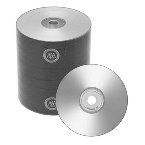 200 Spin-X Diamond Certified 48x CD-R 80min 700MB Silver Inkjet Printable