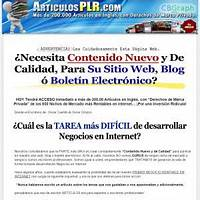 200 articulos plr o con derechos de marca privada online coupon