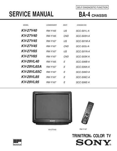 2004 sony wega 60 pdf manual