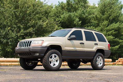 2004 Jeep Grand Cherokee Coil Spring Lift Kit