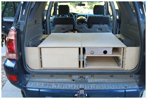 2005 4runner Rear Storage Diy Kitchen