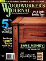 2009-January-Woodworkers-Journal