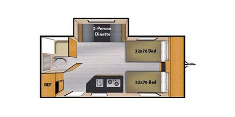 2016 Floorplans Camplite Trailer