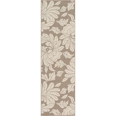 2019 Gilead Beige Taupe Indoor Outdoor Floral Area Rug And Home Cylinder Slide Handguns Parts And Accessories